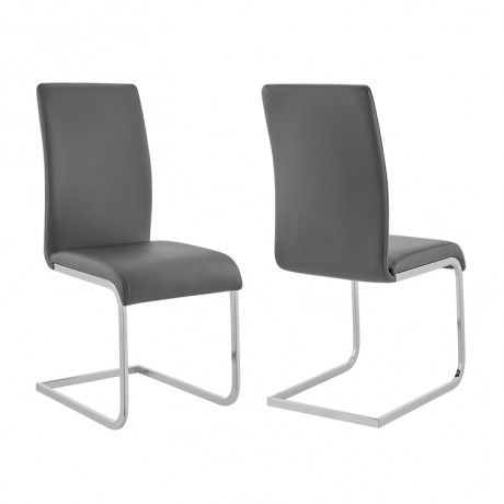 Amanda Gray Side Chair (Set of 2)