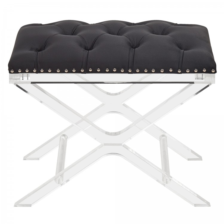 Super Armen Living Cody Modern And Contemporary Tufted Ottoman In Creativecarmelina Interior Chair Design Creativecarmelinacom