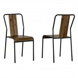 Cusco Acacia Rustic Dining Chair - Set of 2