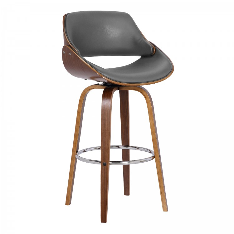 Surprising Mona Contemporary 26 Counter Height Swivel Barstool In Bralicious Painted Fabric Chair Ideas Braliciousco