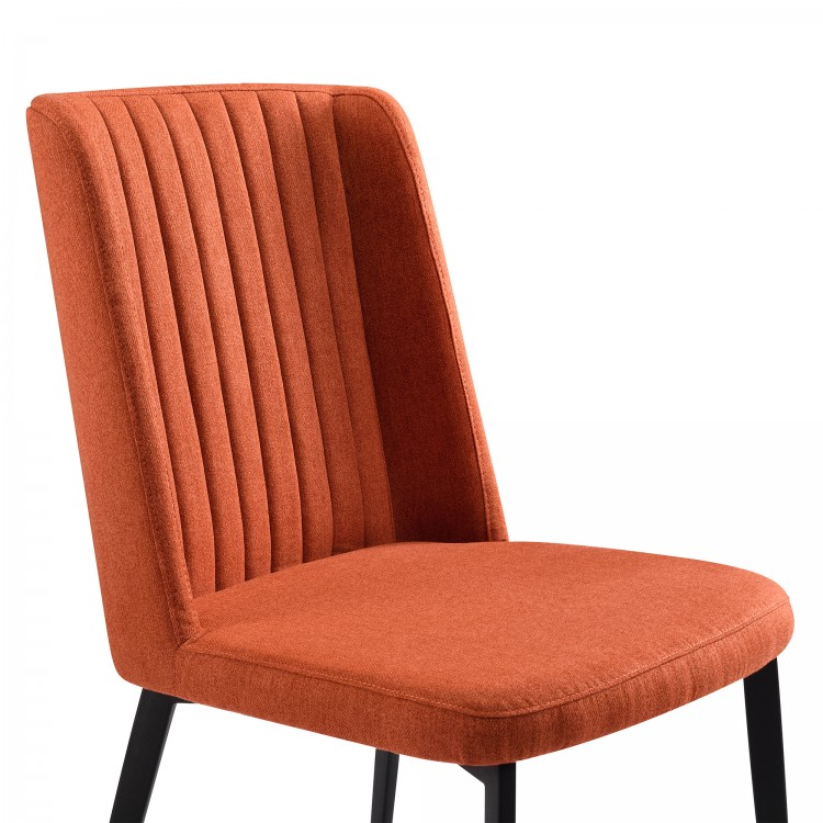 Armen Living Maine Contemporary Dining Chair In Matte