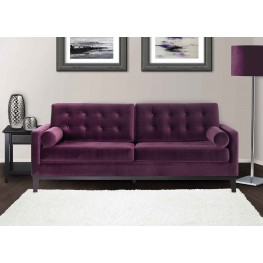 Centennial Sofa In Purple Velvet