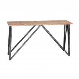 Regis Pine Top Console Table
