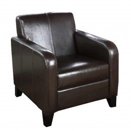 1400 Brown Leather Club Chair