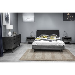 Mohave 4 Piece Acacia King Bedroom Set with Dresser and Nightstands