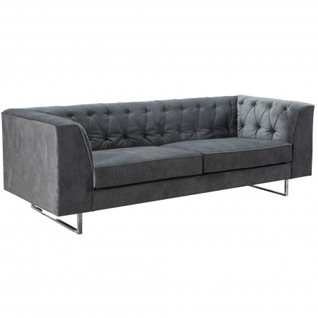 309 Troika Sofa In Charcoal Fabric