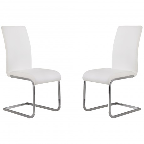 Amanda White Side Chair (Set Of 2)