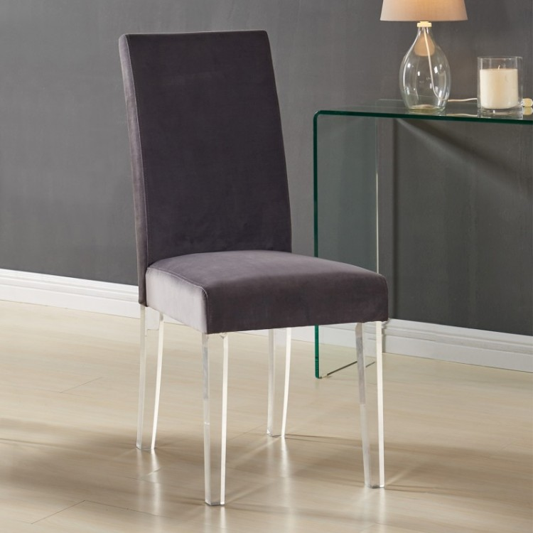 Armen Living Dalia Modern And Contemporary Dining Chair In