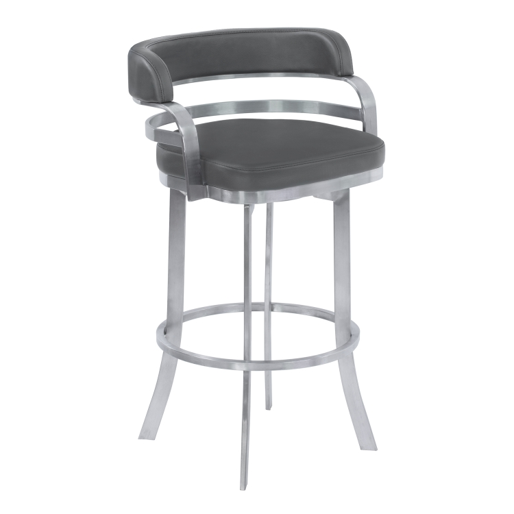 Counter Height Leather Swivel Stools Counter Height
